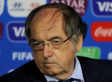 FFF president Noel Le Graet