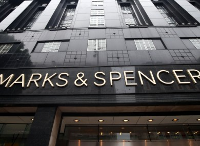 A branch of M&S in London.