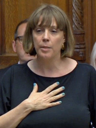 Labour MP Jess Phillips in the House of Commons last night.