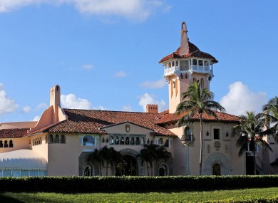 Mar-a-Lago in Palm Beach is a private club owned by President Donald Trump