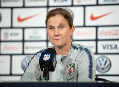 Jill Ellis (file pic).