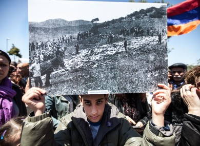 It is estimated that around 1.5 million Armenians perished in what is referred as the first genocide of the 20th century
