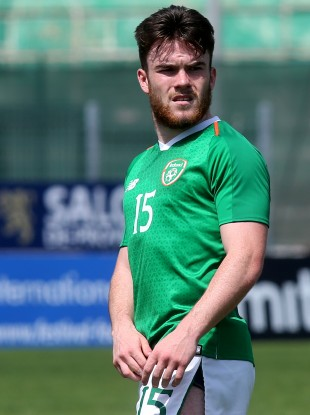 Aaron Connolly has been capped multiple times at Ireland U21 level.