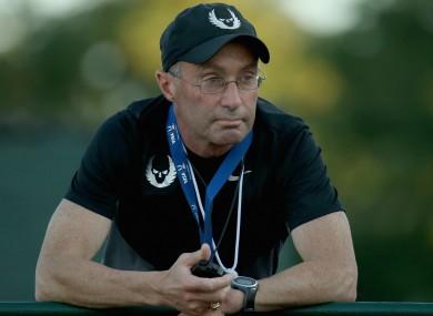 Athletics coach Alberto Salazar.
