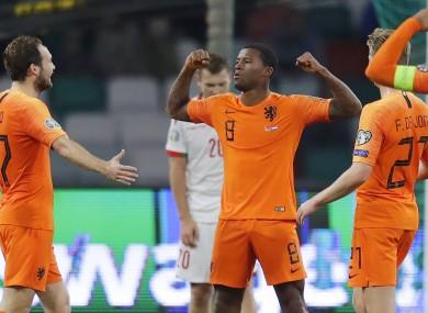 Georginio Wijnaldum netted twice today for Ronald Koeman's side.