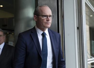 Simon Coveney says the customs proposals are the biggest problem in the UK's plans.
