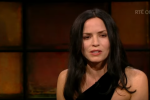 Andrea Corr appeared on the Late Late Show last night.