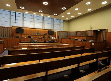 File photo. Court room.