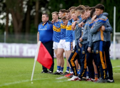 David Power was appointed to the role of Tipperary senior boss last month.