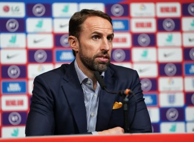Southgate is committed to England.
