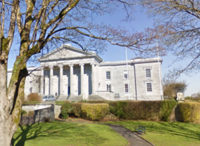Ennis courthouse.