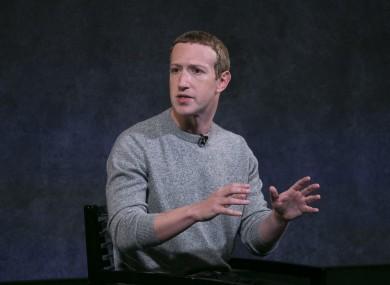 Mark Zuckerberg speaks about