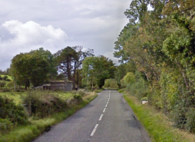 The single-vehicle collision happened on Hilltown Road in Down