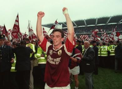 Padraic Joyce after the 1998 All-Ireland final.