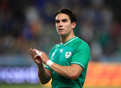 Carbery says that confidence is high in the Ireland squad.