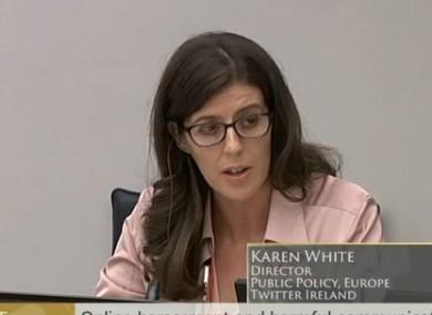 Karen White, Twitter