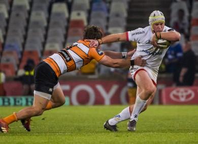 Luke Marahall in action in Bloemfontein.