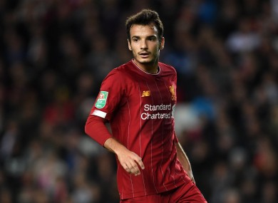 Pedro Chirivella was not registered to feature against MK Dons.