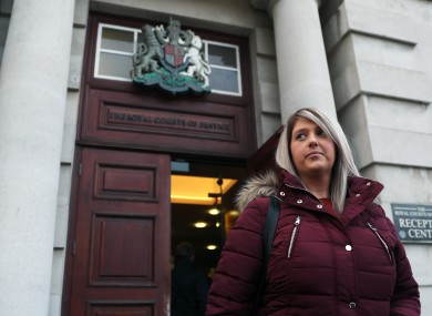 Sarah Ewart launched a judicial review into NI's abortion laws.