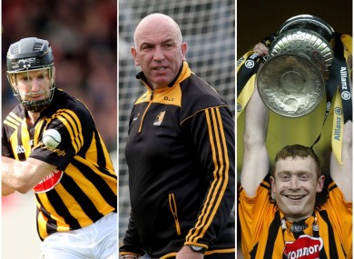 Rice, Carey and Barry were all hugely successful in their playing careers with Kilkenny.