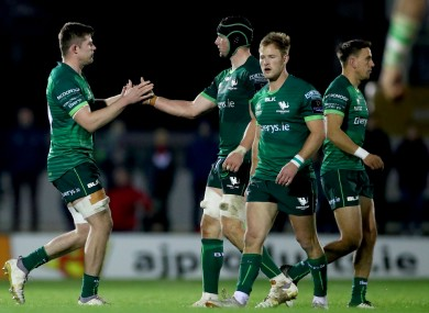 Connacht's Sean Masterson replaces his brother Eoghan Masterson.