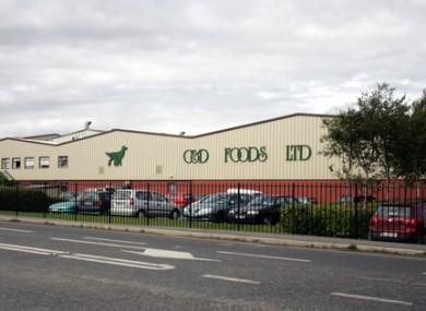C&D pet food store in Edgeworthstown, Co Longford.