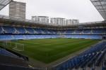The Tehelne Pole Stadium in Bratislava.
