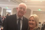Minister for Justice Charlie Flanagan and Verona Murphy at Fine Gael selection convention.
