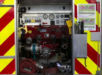 File photo of a fire engine