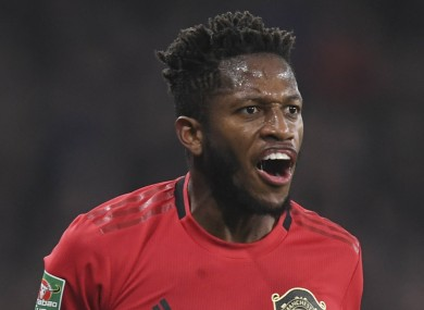 Fred endured a difficult start to life at Man United.