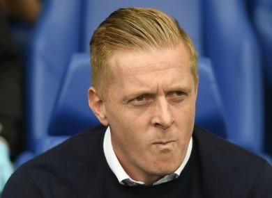 Sheffield Wednesday manager Garry Monk.