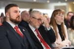Labour Party leader Jeremy Corbyn during an event in Blackpool.