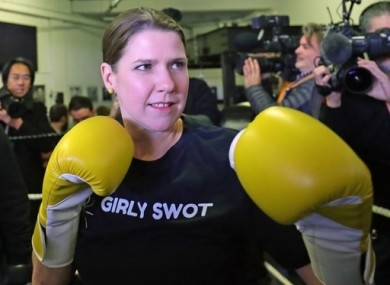 Liberal Democrats leader Jo Swinson.