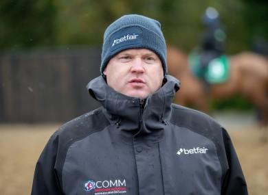 Gordon Elliott saw Apple's Jade overturned today at Navan.