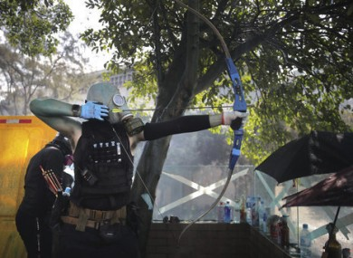 Unrest has continued in Hong Kong today.