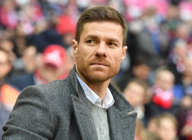 File photo of Xabi Alonso.