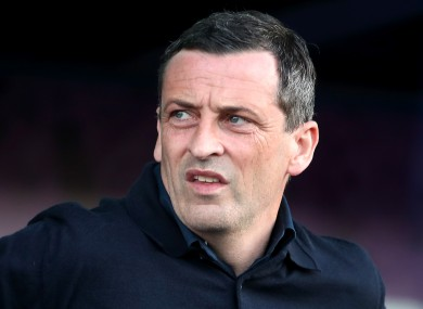Jack Ross is the new manager of Hibernian.