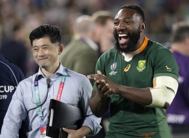 Tendai Mtawarira says retiring after winning the World Cup is the