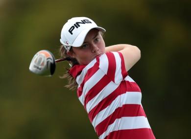 Cavan golfer Lisa Maguire (file pic).