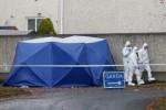 The Garda Technical Bureau at the scene in Lucan