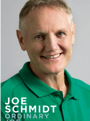 No Ordinary Joe: new book will cover Schmidt's time in Ireland.