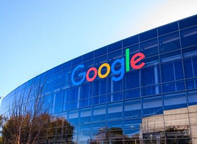 Google HQ in Mountain View, California.