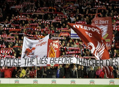 Liverpool Margaret Thatcher And Why The City S Football Fans Boo The British National Anthem