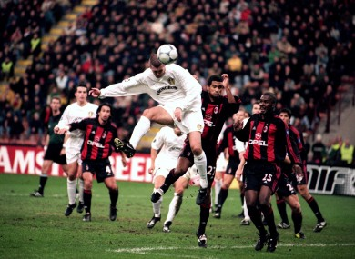 Matteo earned Leeds a famous point in the San Siro.