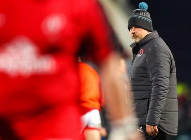 Ulster coach Dan McFarland