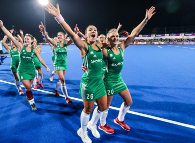 Unbelievable scenes as Ireland book their place at Tokyo 2020.