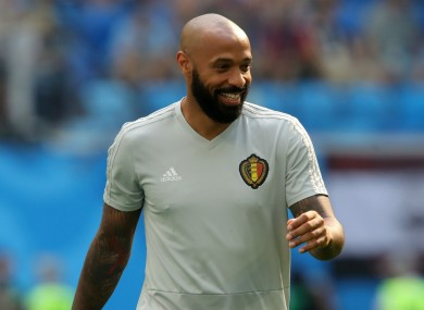Thierry Henry has take over at Montreal Impact.
