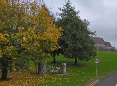 The attack happened on Saturday night at a house in Trasna Way.