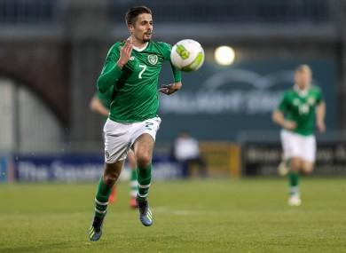 Zack Elbouzedi scored Ireland's winning goal as they beat Armenia last week.