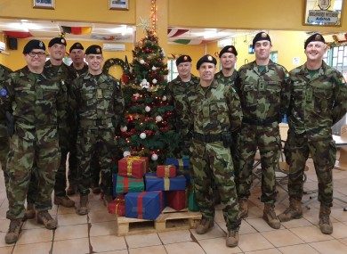 Members of the Defence Forces in Mali.